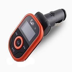 Недорогие Bluetooth гарнитуры для авто-by dhl или ems 50pcs автомобиль mp3 плэйер 1.2 lcd дисплей поддержка usb tf карточка с ультракрасным дистанционным модулем fm модулятора
