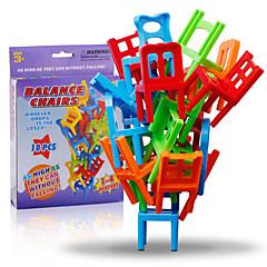 저렴한 -조립식 블럭 조립&블럭 게임 의자 밸런스 클래식 클래식 여아 남아