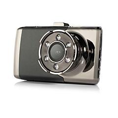 abordables Electrónica de Coche-3 pulgadas del coche dvrtft lcd hd 1080p girado 140 grados ultra gran angular cámara del tablero del vehículo videocámara digital