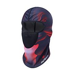 Недорогие Средства индивидуальной защиты-геройщик мотоцикл маска для лица дышащая мотоцикл пыль маска череп мото балаклава солнцезащитная маска мода шлем капот