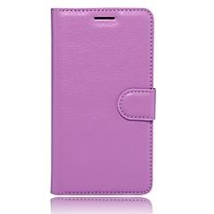 Недорогие Чехлы и кейсы для Xiaomi-Кейс для Назначение Xiaomi Redmi Note 4 Бумажник для карт Кошелек со стендом Флип Магнитный Чехол Сплошной цвет Твердый Кожа PU для