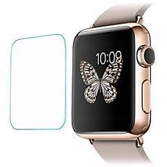 olcso Apple Watch képernyő védők-Képernyővédő fólia Kompatibilitás iWatch 38mm iWatch 42mm Edzett üveg Robbanásbiztos High Definition (HD) 1 db