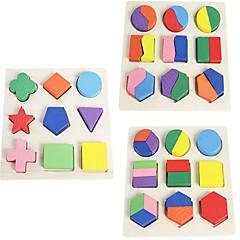 abordables Niños Puzzles-Puzzles de Madera Tema Clásico Juguete del foco De madera Niños Regalo