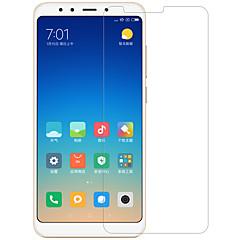 Недорогие Защитные плёнки для экранов Xiaomi-экран протектор для xiaomi xiaomi redmi 5 закаленное стекло / домашнее животное 1 шт передняя и камера объектив протектор высокой четкости (hd) / 9h твердость / взрывозащита