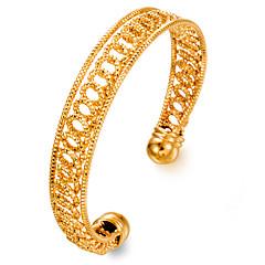 preiswerte Armbänder-Damen Manschetten-Armbänder - vergoldet Modisch Armbänder Gold Für Party Geschenk