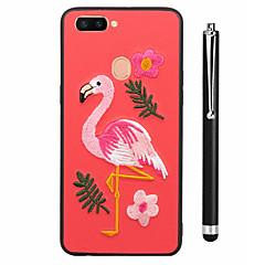 voordelige Hoesjes-hoesje Voor OPPO R9s R11s Patroon Achterkant Volledige behuizing Flamingo dier Zacht TPU voor OPPO R11s Plus Oppo R11s Oppo R11 Plus Oppo
