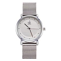 お買い得  大特価腕時計-SK 女性用 ブレスレットウォッチ クォーツ シルバー 30 m 耐水 耐衝撃性 ハンズ レディース チャーム ぜいたく ヴィンテージ 水玉柄 - ゴールド シルバー 2年 電池寿命 / Sony SR626SW