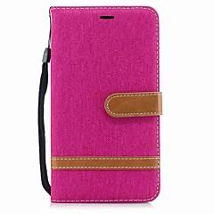 Недорогие Чехлы и кейсы для Huawei Mate-Кейс для Назначение Huawei Mate 10 lite Mate 10 Бумажник для карт Кошелек Защита от удара со стендом Флип Чехол Сплошной цвет Твердый