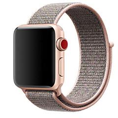 Χαμηλού Κόστους Μπρασελέ για ρολόγια Apple-Παρακολουθήστε Band για Apple Watch Series 3 / 2 / 1 Apple Μοντέρνο Κούμπωμα Νάιλον Λουράκι Καρπού