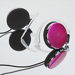 abordables Cascos y Auriculares-li zu q71 teléfono móvil dinámico 3.5mm con cable diadema de cobre con micrófono