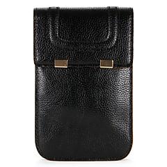 Недорогие Чехлы и кейсы для Galaxy Note 5-Кейс для Назначение SSamsung Galaxy Note 8 Note 5 Бумажник для карт Кошелек Мешочек Сплошной цвет Мягкий Кожа PU для Note 9 Note 8 Note 5