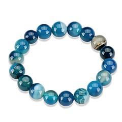 preiswerte Armbänder-Damen Kristall Ketten- & Glieder-Armbänder - Krystall Modisch Armbänder Rot / Blau / Dunkelrot Für Geschenk Alltag