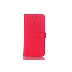 Недорогие Чехлы и кейсы для Sony-Кейс для Назначение Sony Xperia Z5 Xperia Z3 со стендом Флип Чехол Сплошной цвет Твердый Кожа PU для Sony Xperia Z2 Sony Xperia Z3 Sony