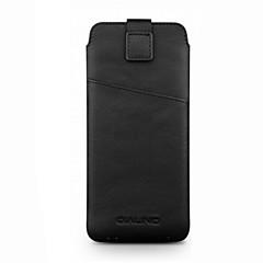 Недорогие Универсальные чехлы и сумочки-Кейс для Назначение OPPO R9s Plus R9s Бумажник для карт Защита от удара Мешочек Сплошной цвет Мягкий Настоящая кожа для OPPO R9