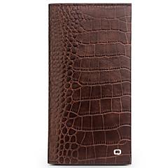 Недорогие Чехлы и кейсы для Huawei Mate-Кейс для Назначение Huawei Mate 9 Pro Mate 8 Бумажник для карт Кошелек Защита от удара Флип Чехол Сплошной цвет Твердый Настоящая кожа для