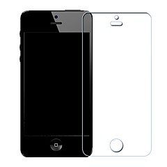 Недорогие Защитные пленки для iPhone SE/5s/5c/5-Защитная плёнка для экрана Apple для iPhone SE/5s iPhone 5 Закаленное стекло 1 ед. Защитная пленка для экрана Взрывозащищенный Уровень