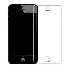 abordables Protectores de Pantalla para iPhone SE/5s/5c/5-Protector de pantalla para Apple iPhone SE / 5s / iPhone 5 Vidrio Templado 1 pieza Protector de Pantalla Frontal Dureza 9H / A prueba de explosión