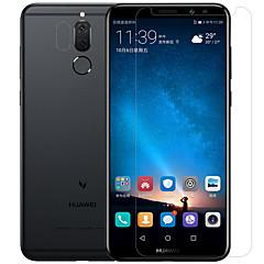 Χαμηλού Κόστους Προστατευτικά οθόνης για Huawei-Προστατευτικό οθόνης Huawei για Mate 10 lite PET Σκληρυμένο Γυαλί 2 pcs Προστασία φακού εμπρός & κάμερας Αντιθαμβωτικό Κατά των Δαχτυλιών