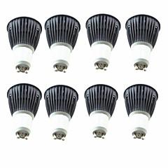 お買い得  LED 電球-8個入り 5.5W 6.5W 600lm GU10 LEDスポットライト 1 LEDビーズ COB 温白色 クールホワイト 220-240V