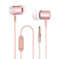 abordables Cascos y Auriculares-Con Cable Auriculares Piezoelectricidad Carcasadeplástico Teléfono Móvil Auricular Auriculares