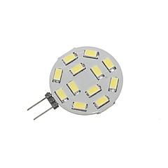 preiswerte LED-Birnen-SENCART 1pc 5W 360lm G4 LED Doppel-Pin Leuchten T 12 LED-Perlen SMD 5730 Dekorativ Warmes Weiß / Kühles Weiß 12-24V