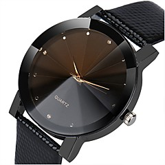 cheap Elegant Watches-Women's Dress Watch Chinese Chronograph / Casual Watch Alloy / PU Band Elegant / Fashion Black / Silver