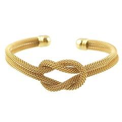 Χαμηλού Κόστους Γυναικεία κοσμήματα-Γυναικεία Βραχιόλια Χειροπέδες Βραχιόλια , Μεταλλικός Επίσημο Κομψή Κράμα Tube Shape Διπλό σπάγκο Κοσμήματα Δώρο Καθημερινά Κοστούμια