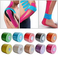 cheap Sports Support & Protective Gear-Non Stretch Support Tape Sports Support Waterproof Protective Breathable Leisure Sports Team Sports Fitness Winter Sports Cotton