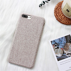 cheap iPhone Cases-Case For Apple iPhone X / iPhone 7 Plus Pattern Back Cover Solid Color Hard PC for iPhone X / iPhone 8 Plus / iPhone 8