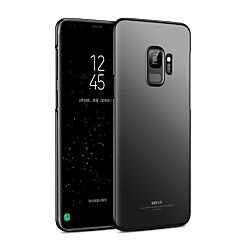 halpa Galaxy S6 Edge kotelot / kuoret-Etui Käyttötarkoitus Samsung Galaxy S9 S9 Plus Ultraohut Takakuori Yhtenäinen väri Kova PC varten S9 Plus S9 S8 Plus S8 S7 edge S7 S6