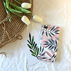 tanie Etui do iPhone 6s-Kılıf Na Apple iPhone X iPhone 7 Plus Wzór Czarne etui Rysunek Twarde PC na iPhone X iPhone 8 Plus iPhone 8 iPhone 7 Plus iPhone 7 iPhone