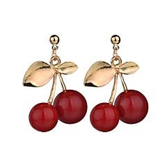 preiswerte Ohrringe-Damen Tropfen-Ohrringe - Blattform Süß, Modisch Rot Für Geschenk / Party