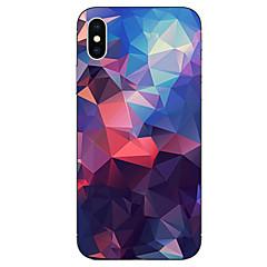 Недорогие Кейсы для iPhone 6-case for apple iphone x xs xr xsmax / iphone 8 шаблон назад обложка геометрический узор мягкий tpu для iphone xs / iphone xr / iphone xs max