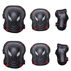 abordables Protecciones para Deporte-Rodilleras, coderas y muñequeras para Patines en Línea / Hoverboard / Patines Transpirable / Protector Pack de 6