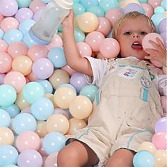 abordables Balones y accesorios-5.5cm Eco-Friendly Colorful Ball Ocean Ball Interacción padre-hijo Plástico blando Niños Bebé Regalo 100pcs