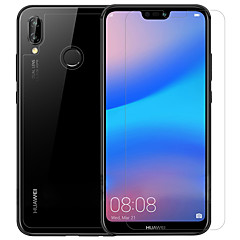 billige Skærmbeskyttelse til Huawei-Skærmbeskytter Huawei for Huawei P20 lite PET 3 stk Front & Back & Camera Lens Protector Anti-Glans Anti-fingeraftryk Ridsnings-Sikker