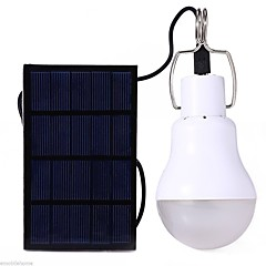 cheap DIY Parts and Tools-S-1200 LED Light Bulbs LED LED 12 Emitters 110 lm with Battery Solar Power, Energy Saving Camping / Hiking / Caving, Everyday Use White