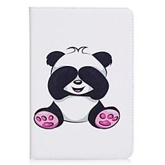 Недорогие Кейсы для iPhone-Кейс для Назначение Apple iPad mini 4 iPad Mini 3/2/1 Бумажник для карт Кошелек со стендом С узором Авто Режим сна / Пробуждение Чехол