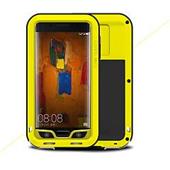 Недорогие Чехлы и кейсы для Huawei Mate-Кейс для Назначение Huawei Mate 9 Pro Защита от удара Чехол Сплошной цвет Твердый Металл для Mate 9 Pro