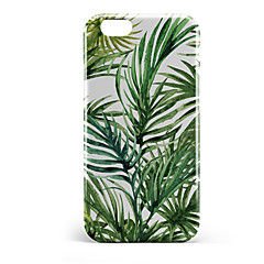 Недорогие Кейсы для iPhone 6 Plus-Кейс для Назначение Apple iPhone 6 Plus iPhone 7 Plus С узором Кейс на заднюю панель дерево Твердый ПК для iPhone 8 Pluss iPhone 8 iPhone