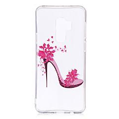 billige Galaxy S6 Etuier-Etui Til Samsung Galaxy S9 S9 Plus IMD Mønster gennemsigtige legeme Bagcover Flise Blødt TPU for S9 Plus S9 S8 Plus S8 S7 edge S7 S6 edge