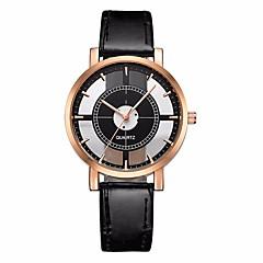 cheap -Women's Sport Watch Chronograph Casual Watch PU Band Analog Fashion Minimalist Black / White / Brown - White Black Brown One Year Battery Life / SSUO LR626