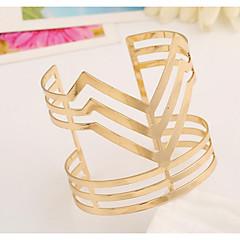 preiswerte Armbänder-Damen Manschetten-Armbänder - Modisch Armbänder Gold / Silber Für Hochzeit / Geburtstag