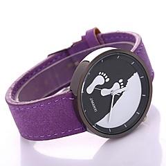 お買い得  メンズ腕時計-男性用 中国 クリエイティブ / カジュアルウォッチ PU バンド ブラック / ステンレス / SSUO LR626