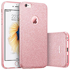 voordelige iPhone-hoesjes-hoesje Voor Apple iPhone 8 iPhone 8 Plus IMD Achterkant Glitterglans Zacht TPU voor iPhone 8 Plus iPhone 8 iPhone 7 Plus iPhone 7 iPhone