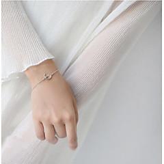 preiswerte Armbänder-Damen Ketten- & Glieder-Armbänder - S925 Sterling Silber Katze, MOON, Tier Armbänder Silber Für Hochzeit / Verabredung