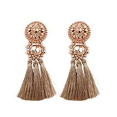 preiswerte Ohrringe-Damen Tropfen-Ohrringe - Quaste, Modisch Leicht Rosa / Rotgold / Dunkelgrün Für Geschenk / Alltag