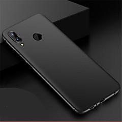 tanie Etui / Pokrowce do Huawei-Kılıf Na Huawei P20 lite P20 Ultra cienkie Szron Czarne etui Jendolity kolor Twarde PC na Huawei P20 lite Huawei P20