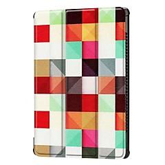 お買い得  タブレット用ケース-ケース 用途 Huawei MediaPad MediaPad M5 10 スタンド付き フルボディーケース ワード/文章 エッフェル塔 動物 ハード PUレザー のために MediaPad M5 10