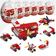 olcso -Építőkockák 216pcs Katonai Stressz és szorongás oldására / Szülő-gyermek interakció Tűzoltóautó Ajándék